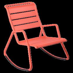 rocking chair metal, rocking chair fermob, rocking chair jardin, rocking chair rose