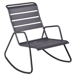 rocking chair metal, rocking chair fermob, rocking chair jardin, rocking chair noir