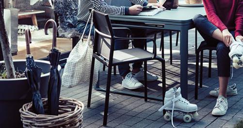 chaise de jardin, chaise en toile, chaise terrasse, chaise de jardin design, fermob