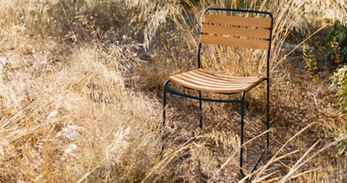 chaise design, chaise metal, chaise teck, chaise de jardin