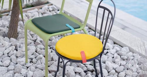 galette de chaise, galette chaise de jardin, galette de chaise d exterieur