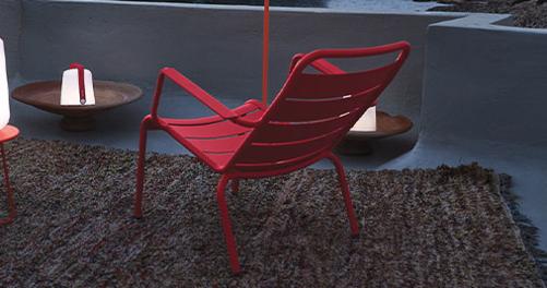 fauteuil de jardin, fauteuil metal, fauteuil terrasse