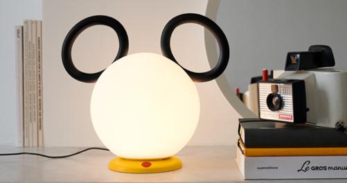 lampe sans fil, lampe pour enfant, mickey, deco mickey