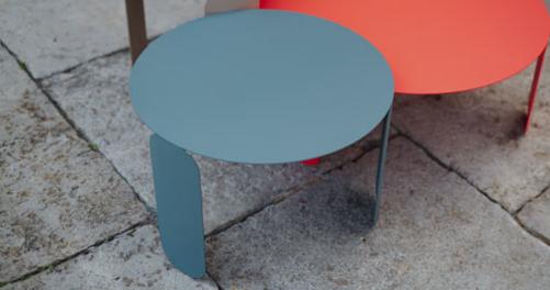 table basse fermob, table basse design, table basse de jardin, table basse metal
