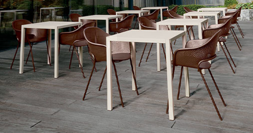 table de jardin, table design, table terrasse, putman