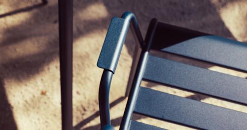 chaise metal, chaise de jardin