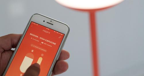 lampadaire, lampe sans fil, lampe connectée, lampe bluetooth