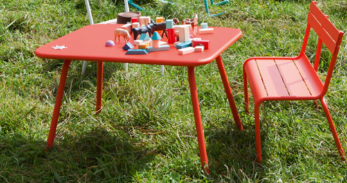 table basse jardin Luxembourg Kid