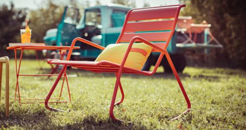 rocking chair metal, rocking chair de jardin, rocking chair terrasse