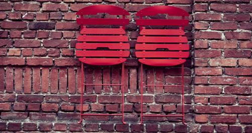 chaise pliante, chaise de jardin, fermob
