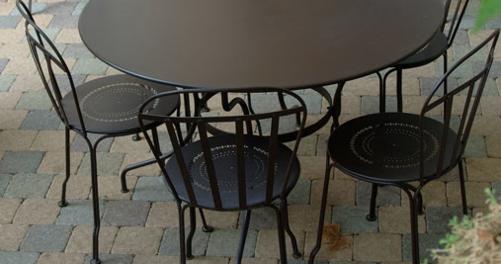 chaise metal, chaise de jardin, chaise terrasse