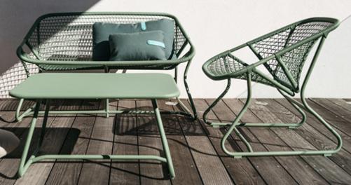 mobilier fermob, mobilier de jardin