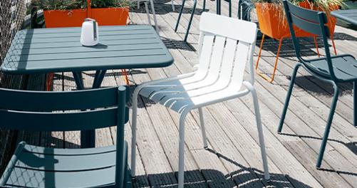 chaise design, chaise metal, chaise de jardin design