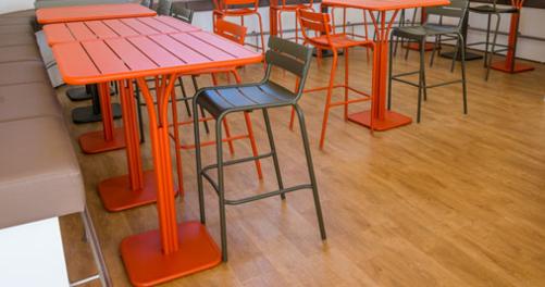tabouret de bar industriel Luxembourg
