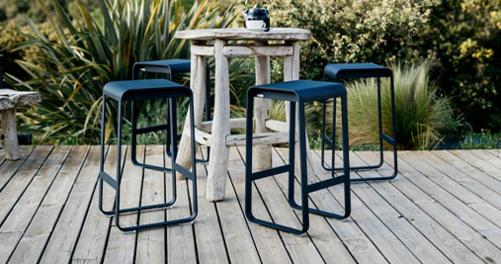 tabouret metal, tabouret de jardin, tabouret terrasse, tabouret design, fermob