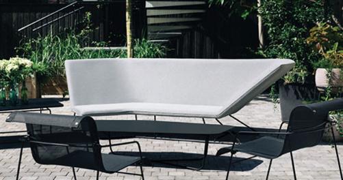 salon de jardin fermob, canape d exterieur, canape de jardin