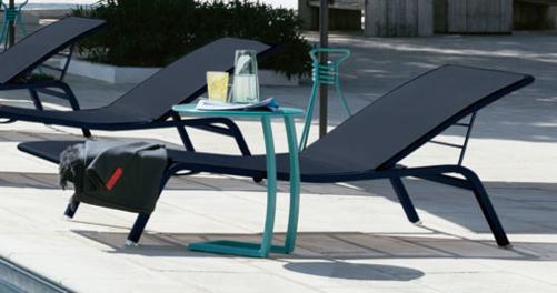 table basse chaise longue, table chaise longue, table basse bain de soleil