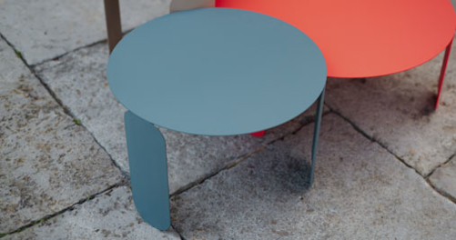 table basse fermob, table basse design, table basse de jardin, table basse metal