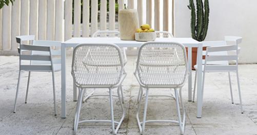 table de jardin, table design, table terrasse, putman