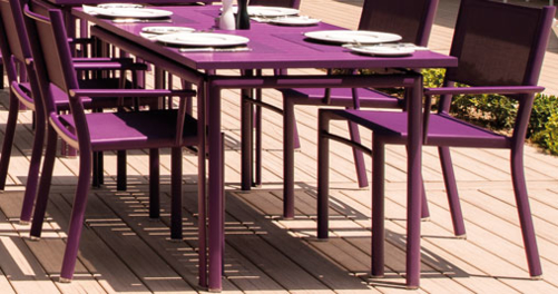 table jardin 6 personnes COSTA