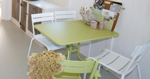 table restaurant, table metal, table terrasse restaurant, mobilier restaurant