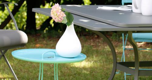 table metal, table de jardin, table 14 personnes, table de jardin a rallonge