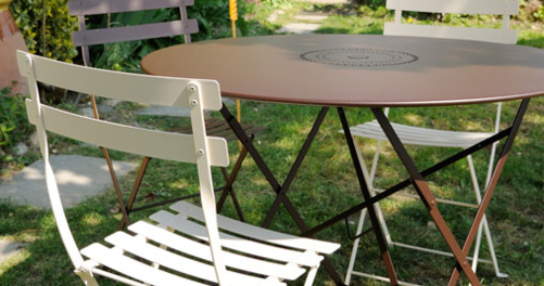 table de jardin pliante FLOREAL
