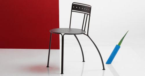 chaise metal Palais Royal