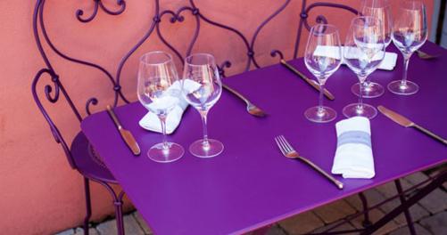 table de jardin 4 personnes Bistro