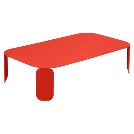 table basse design, table basse metal, table basse fermob, table basse rose