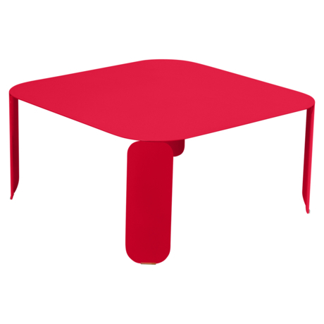 table basse metal, table basse design, table basse fermob, table basse rose