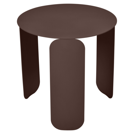 table basse design, table basse metal, table basse fermob, table basse marron