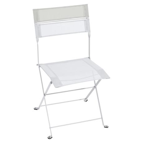 chaise pliante en toile, chaise en toile, chaise pliante fermob