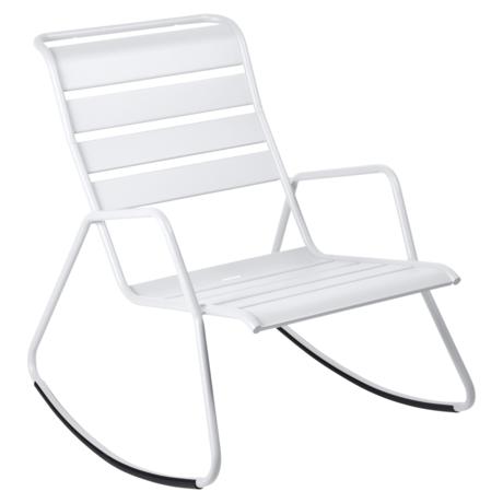 rocking chair metal, rocking chair fermob, rocking chair jardin, rocking chair blanc