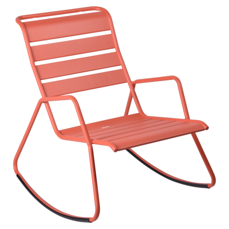rocking chair metal, rocking chair fermob, rocking chair jardin, rocking chair rose