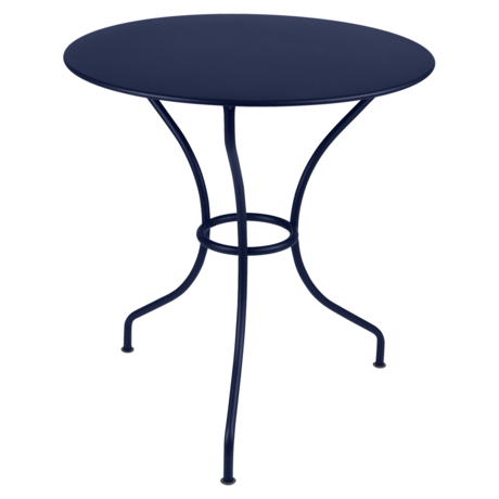 table de jardin, table metal, table ronde, table 2 personnes, table balcon
