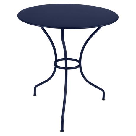 table de jardin, table metal, table ronde, table 2 personnes, table balcon