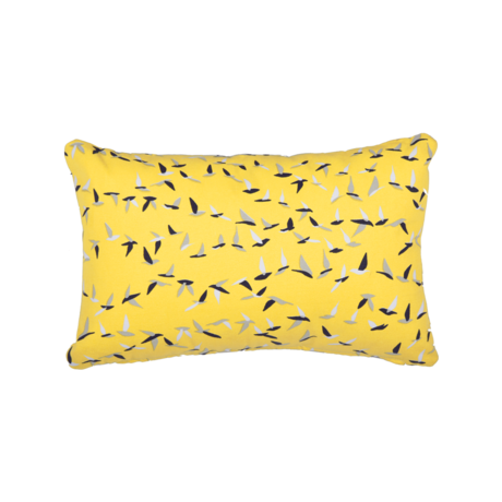 coussin deco jaune, coussin fermob, coussin terrasse, coussin design