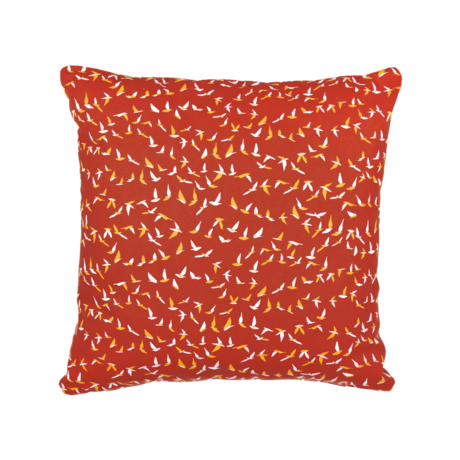 coussin deco rouge, coussin fermob, coussin terrasse, coussin design