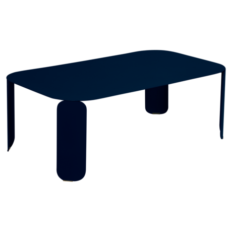 table basse metal, table basse fermob, table basse design, table basse bleu