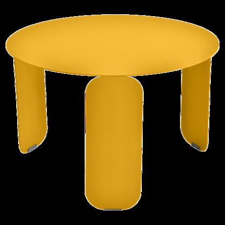 table basse metal, table basse fermob, table basse design, table basse jaune