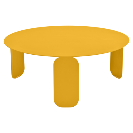 table basse metal, table basse design, table basse fermob, table basse jaune
