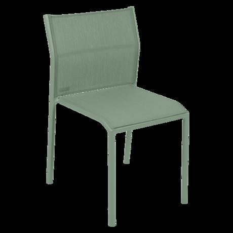 chaise de jardin, chaise en métal et toile cactus