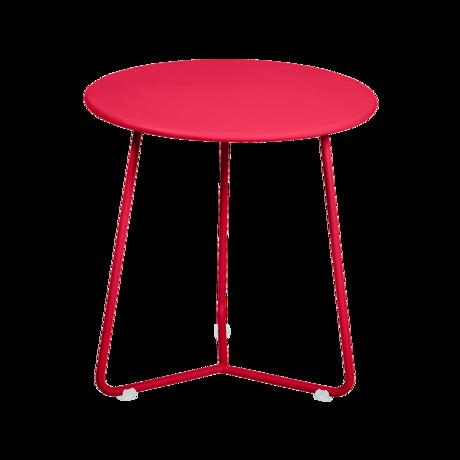 tabouret bas metal, table de chevet, table d appoint, petite table basse rose