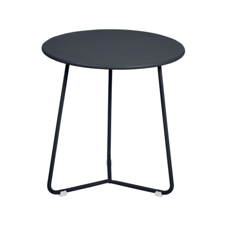 tabouret bas metal, table de chevet, table d appoint, petite table basse noir