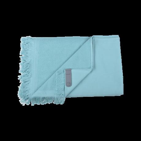 fouta, serviette de plage, fouta fermob, serviette fermob, fouta bleu