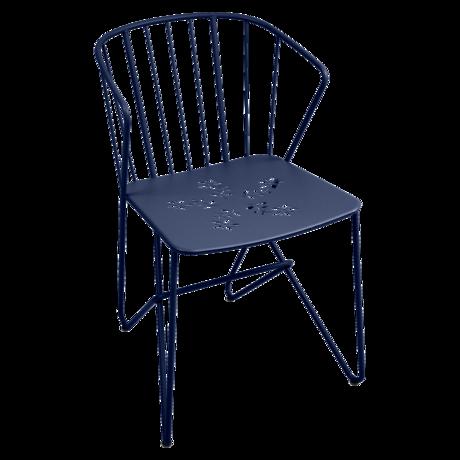 chaise metal, chaise design, chaise original, chaise bleu, chaise de jardin