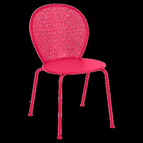 chaise lorette rose praline