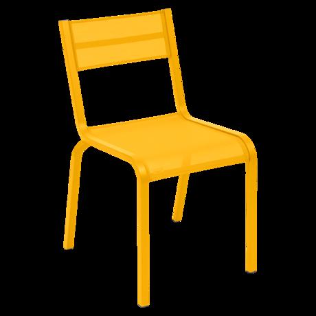 chaise de jardin, chaise fermob, chaise en toile, chaise fermob jaune