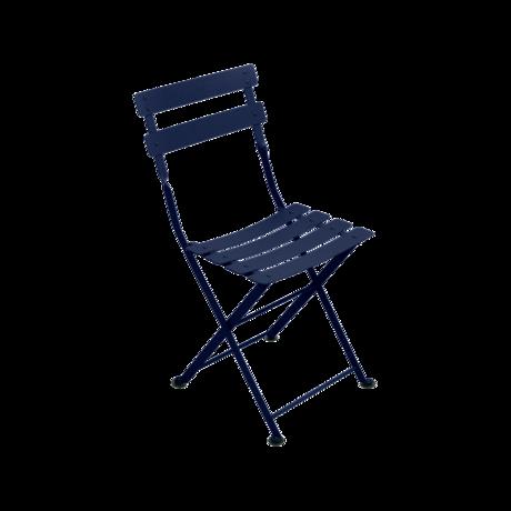 chaise metal pour enfant, chaise de jardin enfant, chaise enfant bleu